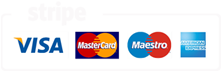 Available payment options using Stripe