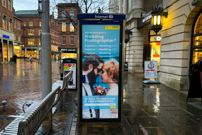 link to Outdoor Advertising - CaptureOurWedding.com
